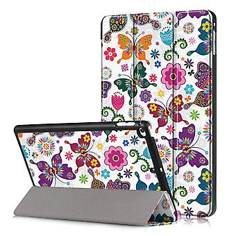 iPad mini 2019/Mini 4 Slim Fit Tri-ori caz-fluturi
