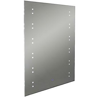 Starlight - Led-beleuchtete 80 X 60cm rechteckig Wandspiegel mit Demister und Dimmer