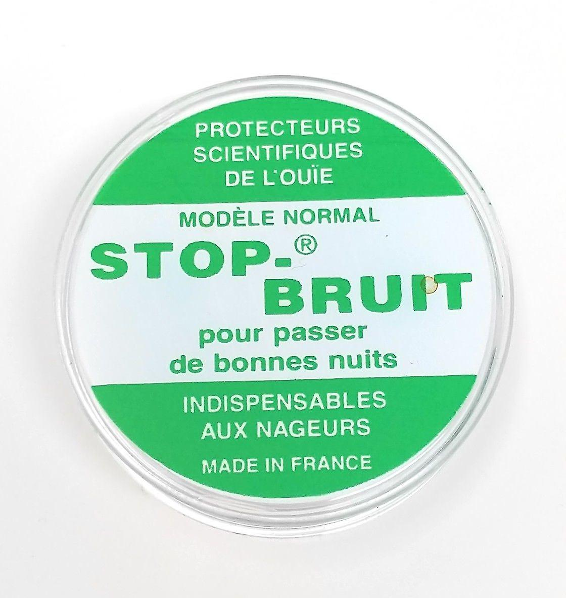 Stop-Bruit Ear Plug - Scientific Ear Protection Against Noise, Water and Cold (1 Pair)