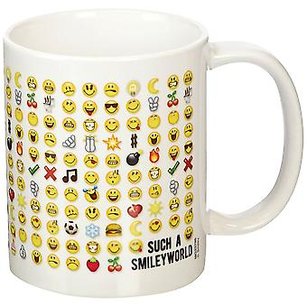 Smiley Emoticon Ceramic Coffee Mug