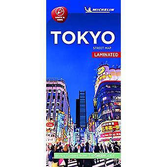 Tokyo- Michelin City Map Laminated 9219 - Laminated City Plan by Tokyo