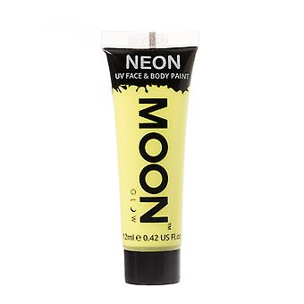 Moon Glow - 12ml Neon UV Gesicht & Body Paint - pastell gelb
