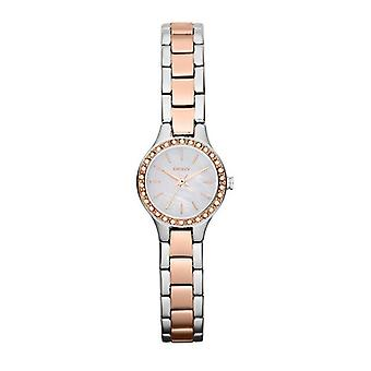 DKNY Chambers Ladies Two Tone Mother of Pearl Watch NY8811