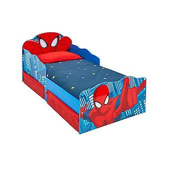 Spiderman taapero vuode varastointi ja syttyy silmät