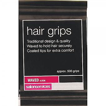 Salon Services Classic Waved haar grepen-4,5 cm blond