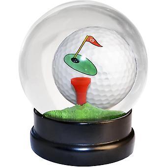 Golf Globe bal met tee