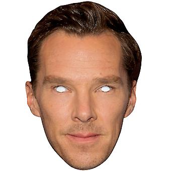 Benedict Cumberbatch Single 2D Card Party Fancy Dress Mask