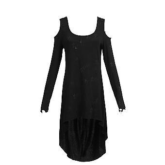 Punk rave - serenity dress - womens black dress
