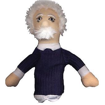 Finger Puppet - UPG - Albert Einstein Soft Doll Giocattoli Regali Licensed Nuovo 0148