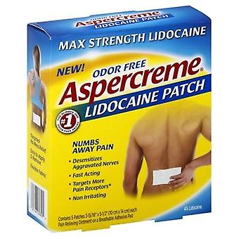 Aspercreme Lidocaine Patch Maximum Strength
