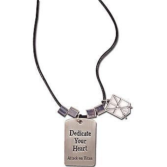 Necklace - Attack on Titan - New 104th Training Regiment 'Dedicate Your Heart' ge36488