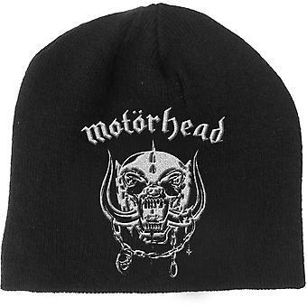 Motorhead Beanie Hat Warpig England Band Logo new Official Black