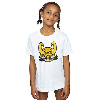 Marvel Girls Loki Close Up T-Shirt