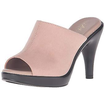 Athena Alexander Womens ELYSE Open Toe Casual Mule Sandals