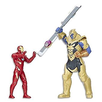 Avengers Marvel infinity War Iron Man vs. Thanos taistelu setti