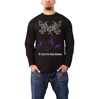 Mayhem T Shirt De Mysteriis Dom Sathanas new Official Mens Black Long Sleeve