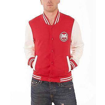 Spør Alexandria baseball Jacket Snake band logo offisiell mens New Red Varsity