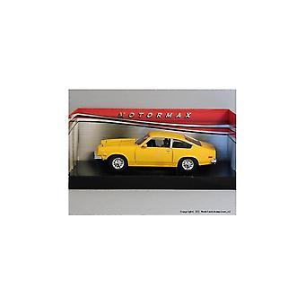 MotorMax  American Classics - 1974 Chevrolet Vega - Yellow  1:24