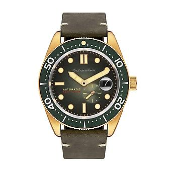 Spinnaker SP-5058-04 Gent's Croft Green Dial Armbanduhr