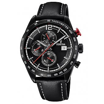 Festina F20344-3 menn ' s sport chronograph armbåndsur