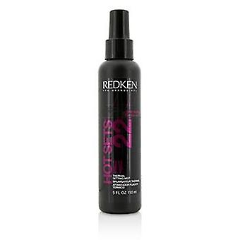 Redken Heat Styling Hot Sets 22 Thermal Setting Mist - 150ml/5oz