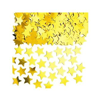 Duża złota gwiazda konfetti 14gm