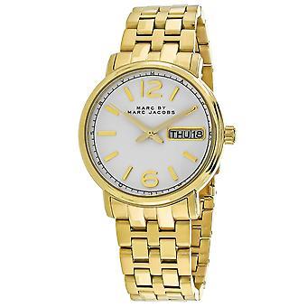 Marc Jacobs kvinner ' s Fergus hvit oppringt klokke-MBM8647