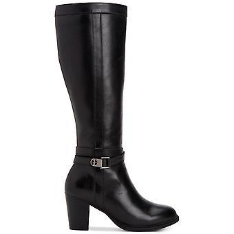 Giani Bernini Womens Rozario Leather Almond Toe Knee High Fashion Boots