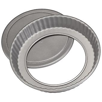 Stellar James Martin, bakkers dozijn fluted flan tin, losse Base, 20 X 3.5 cm, (8 X 1 inch)