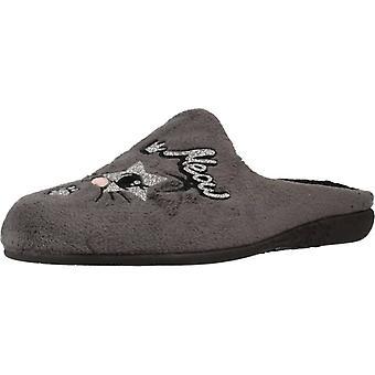 Vulladi schoenen meisje Home 9235 140 kleur grijs
