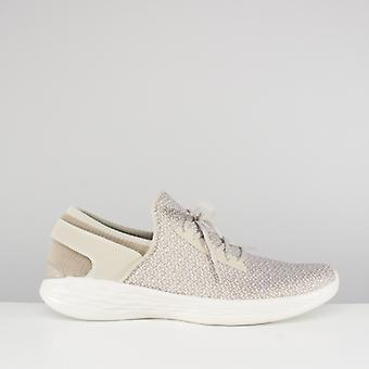 Skechers You - Inspire Ladies Slip On Trainers Natural