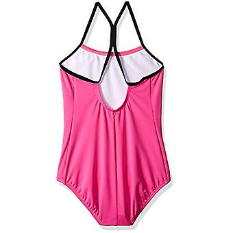 Nike înot fete mari ' racerback o bucata costum de baie, cu laser fuchsia, X-Small