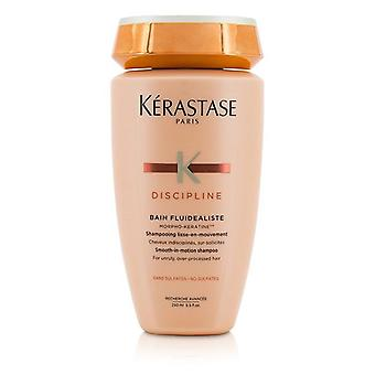 Kerastase Discipline Bain Fluidealiste Smooth-in-motion Sulfate Free Shampoo - For Widerruly Over-processed Hair (neue Verpackung) - 250ml/8.5oz