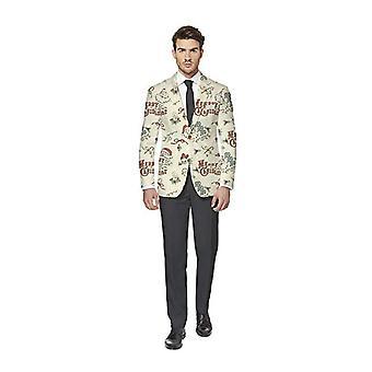 Merry Christmas Jacket Christmas Jacket Motif Opposuit Slimline Premium