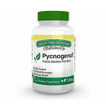 Pycnogenol (French Maritime Pine Bark) 50 mg (30 Capsules) - Health Thru Nutrition