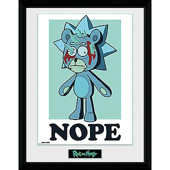 Rick en Morty Nope Collector print 30.5 x41cm