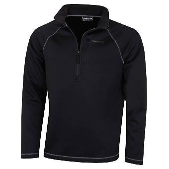 Craghoppers Mens Rixo isoliert Microfleece Tasche Halb Zip Fleece Pullover