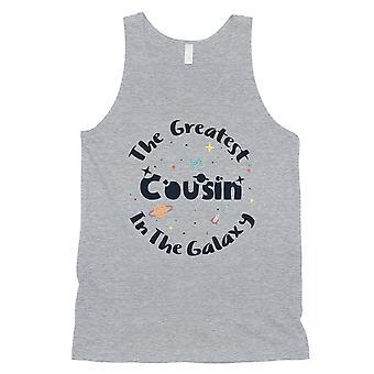 Die größte Cousin E-Cousin Herren grau Tank Top Geburtstagsgeschenk für Cousin