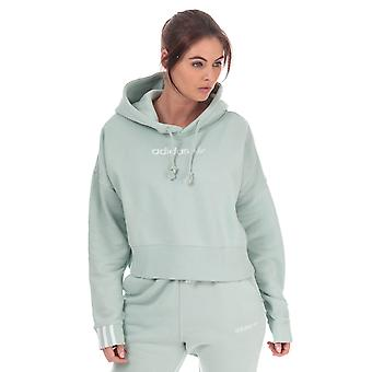 Femmes adidas Originals Coeeze Cropped Hoody In Vapour Green