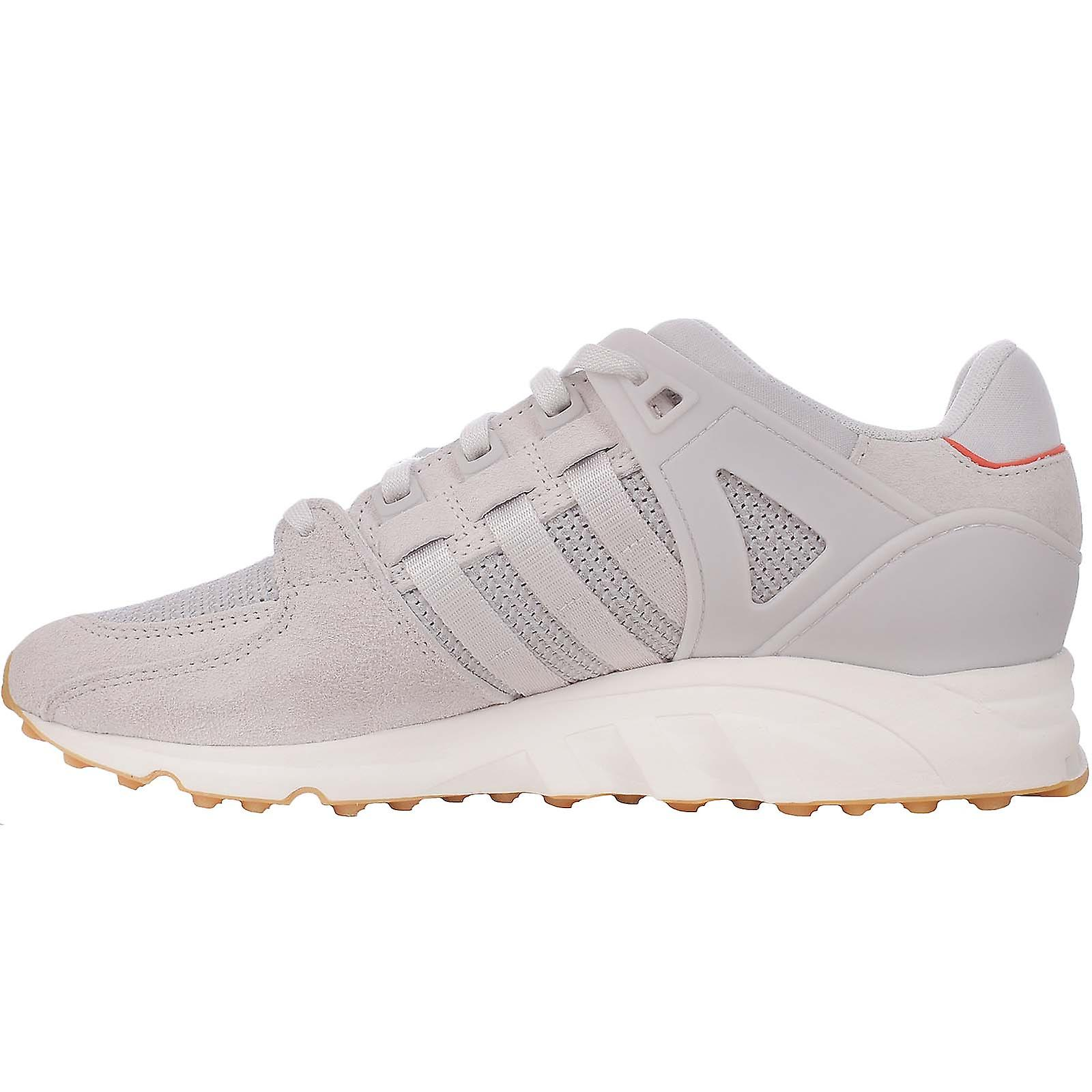 adidas Orignials Womens EQT Support RF Lace Up Suede Trainers Sneakers - Grey NLvQK