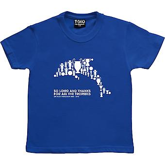 So Long, And Thanks For All The Fish Royal Blue Kids-apos; T-Shirt
