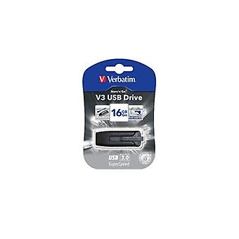 Verbatim V3 Usb3.0 Grey Store'N'Go V3 Rectractable
