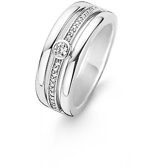 Release 12094ZI ring - ring Triple rings crystals woman
