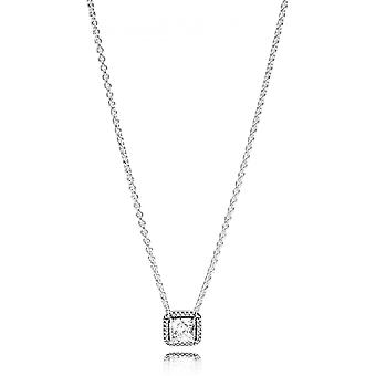 396241CZ - collar l gance Intemporelle woman Pandora necklace