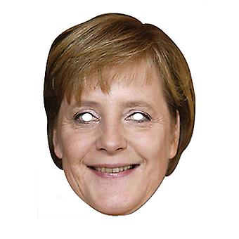 Angela Merkel German Chancellor Card Party Fancy Dress Mask