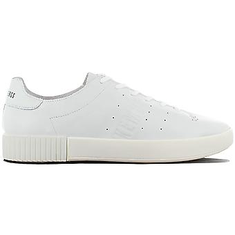 Bikkembergs Cosmos 2100 BKE109342 Men's Shoes White-Grey Sneakers Sports Shoes