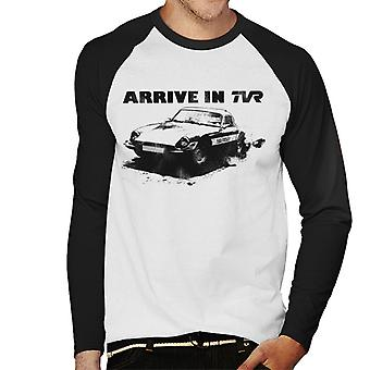 TVR Arrive In Retro M Series Men's Baseball Long Sleeved T-Shirt