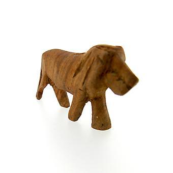 Large Hand Carved Lion Sculpture Figurine – 7.5 cm