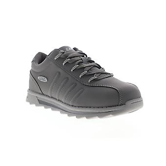 Lugz Changeover II  Mens Gray Nubuck Lace Up Low Top Sneakers Shoes