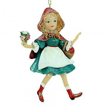 Gisela Graham Red Riding Hood Decoration